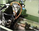 旋盤の自動寸法測定装置